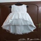 فستان سهرة بناتي جديد غير ملبوس