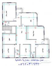 عمل مخططات معمارية وانشائية بالتسليح المضبوط