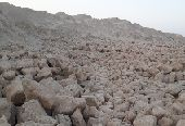 مليون طن حجر جيري جاهز للتحميل قابل للزيادة