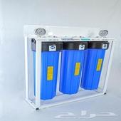 اجهزة فلاتر تحلية مياه ومحطات مركزيه