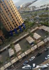 شقة للايجار الشهري أو البيع_ برج داماك_جدة