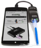 محول وصلة ايثرنت الى الجوال USB 2.0 Micro-B