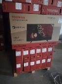 للبيع عدد 15 شاشة توشيبا 43بوصةLED بسعر منخفض