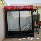 يوجد ثلاجة للبيع الثلاجه من شركةكوكاكولا