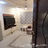 غرفةة و صاله مؤثثةة للايجار بحي الصفاا