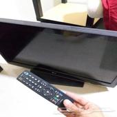 تلفزيون LG 32 بوصة وحزام جديد لشد الاغراض