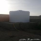 خزان ماء نظيف جدا  سعة 5 طن