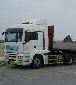 شاحنة مان رأس تريلا 2008 للبيع