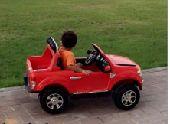 فورد رينجر للأطفال حوض بعجلات مطاط