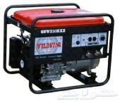 ماطور كهرباء 5 kw لحام 210 Am ياباني ضمان سنة