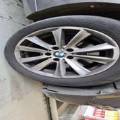 جنط بي ام 17 مع كفر. BMW 520i 2013
