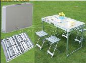 طقم طاولة مع 4كراسي للرحلات بسعرخاص