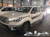 هايلكس دبل بنزين 2018 سعودي96500(العضيله)