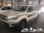 هايلكس دبل بنزين 2018 سعودي 96000(العضيله)