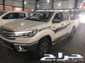 هايلكس دبل بنزين فل 2018 سعودي95500(العضيله)