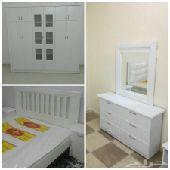 غرف نوم وطنى جديده جاهز للتركيب بسعر 1800ريال