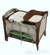سرير أطفال Graco الأصلي 3 مستويات قابل للطي