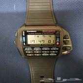 ساعة كاسيو ريموت 950ريال اصلي نظيف