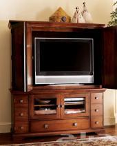 مطبخ مستعمل وتلفزيون