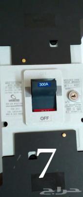 قواطع كهربائية رئيسية بسعة 300 امبير (جديد)
