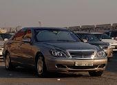 Mercedes w220 s500 فياقرا جفالي