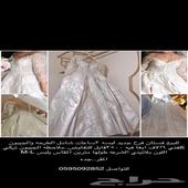 فستان عروسه جديد للبيع لبس 3ساعات