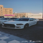 تشارجر ار تي 2013 فل هاوس اللون أبيض محول SRT