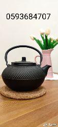ابريق حديد الزهر الصلب (casting iron pot)