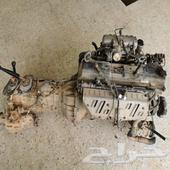 مكينة لاندكروزر 4500 مع القير والدبل والضفيرة