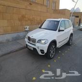 للبيع او البدل BMW X5 موديل 2013