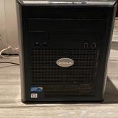 كمبيوتر مكتبي كاملdell core2 deu