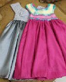 فستان كروشيه بناتي