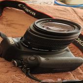 كاميرا canon EOS600D