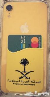 محفظة تجي خلف الجوال تحمل بطاقه لاصق 3m