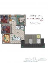 شقة للبيع قيد التشطيب 4 غرف