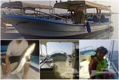رحلات بحرية - صيد ونزهة - في بحر الرايس