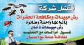 شركة مكافحة حشرات الرياض رش مبيدات 0559585449