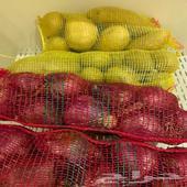كرتون طماطم كوسه باذنجان بازلا فلفل رومي جزر