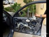 اصلاح زجاج باب السياره جميع انواع السيارات