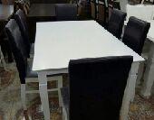 طاولة خشب ماليزي nجديدة بالكرتون