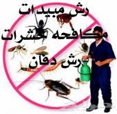 رش مبيدات مكافحه حشرات تنظيف خزانات فلل شقق