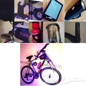 دراجة للبيع بكامل الإضافات عليها جاهزة للاستخ