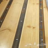 خشب حوض سويدي وحديد السلايات جمس