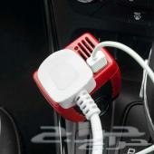 محول كهربائي لتشغيل وشحن اي جهاز داخل السيارة