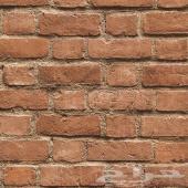 ورق جدران كوري - طوب ثلاثي الابعاد