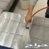 شركة تنظيف غسيل شقق فلل خزانات مجالس كنب مبيد