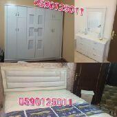 غرف نوم نفرين واطفال جديد1800 مع التركيب
