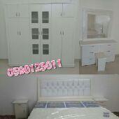 غرف نوم نفرين واطفال1800 شامل توصيل وتركيب