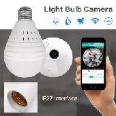 كاميرا مراقبة على شكل لمبة أفضل جودة وسعر