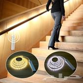 جهاز مستشعر LED زينه غرفة النوم او الدرج